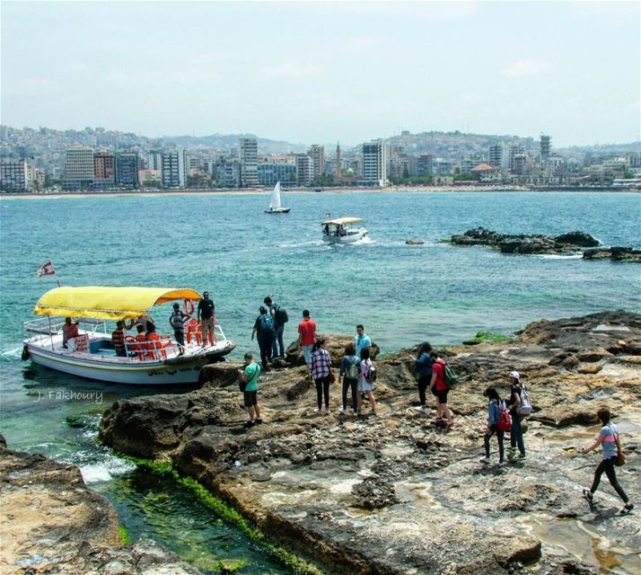 Into the blue Saida <a (Saïda, Al Janub, Lebanon)