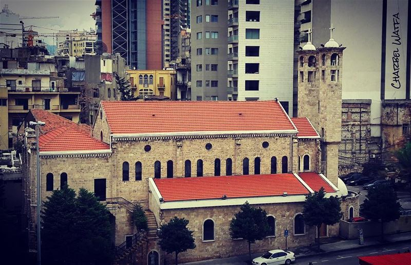 Architecture is not based on concrete and steel and the elements of the... (Achrafieh, Lebanon)