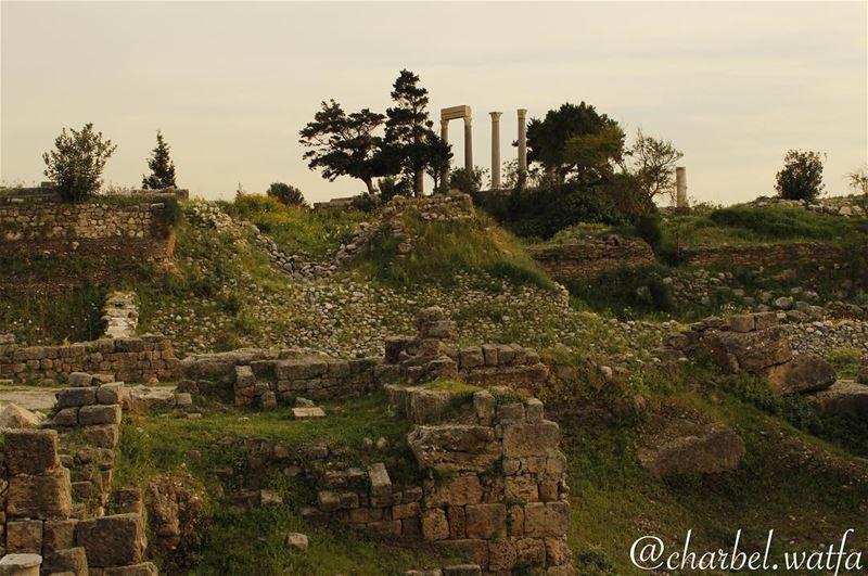The Castle of Byblos Phoenicians debris antiquity authentic iconic ... (Byblos, Lebanon)