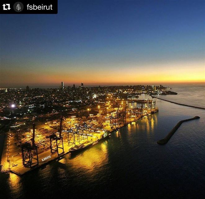 Repost @fsbeirut with @repostapp.・・・ Beirut sunsets are beautiful &...