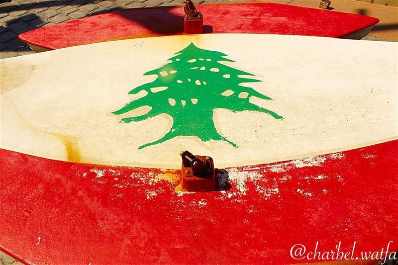 The Lebanese flag on a kayak board Lebanon lebanon_hdr lebanonmania...