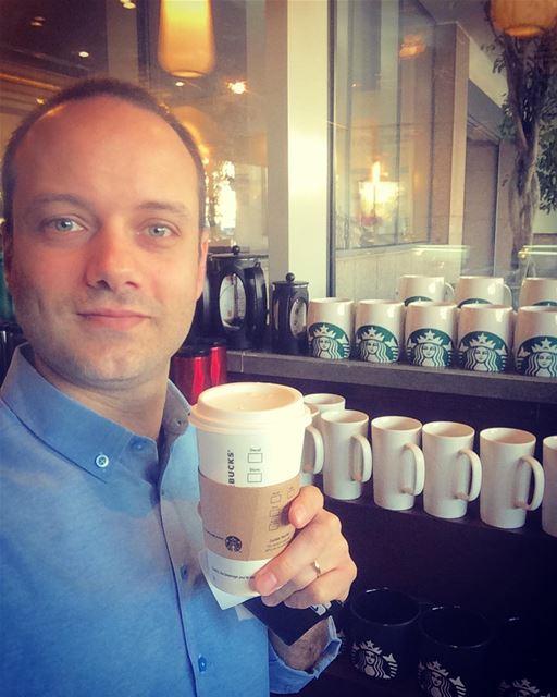 Good morning Beirut Lebanon from @starbucksmiddleeast coffee cafe ...