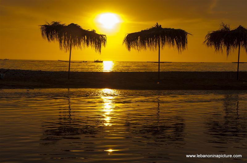 Sunset at Ibrahim River Landing