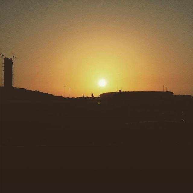 Sunset at sevensisters Biel Beirut Lebanon coucher de soleil ...