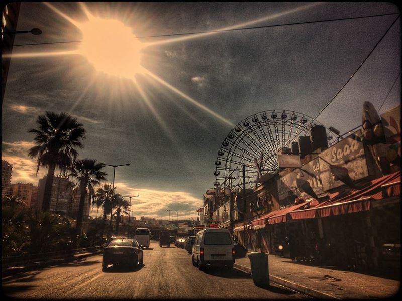 raouché rawche lunapark beirut lebanon streetsofbeirut ferriswheel ... (Beirut Luna Park-Rawche)