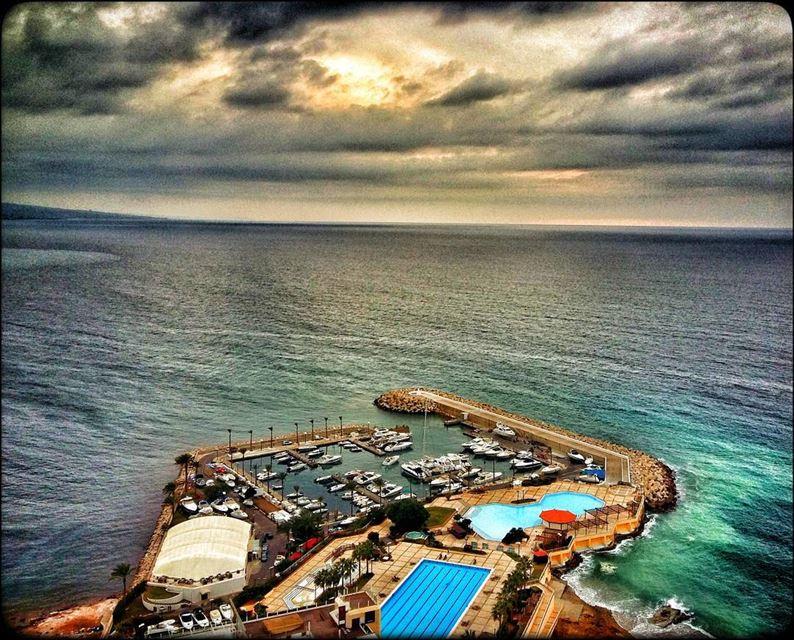 manara raouché beirut lebanon beach sea seaview mediterranean ... (Manara Beirut)