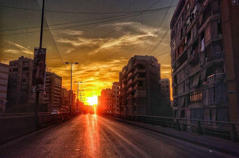 beirut beirutcity lebanon beirutstreets beirutbuildings sunset dusk... (Beirut, Lebanon)