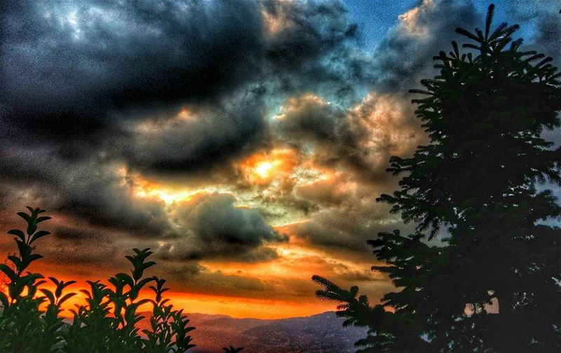 cherryblossomboutiquehotel bhamdoun aley mountlebanon lebanon sunset... (Cherry Blossom Boutique Hotel)
