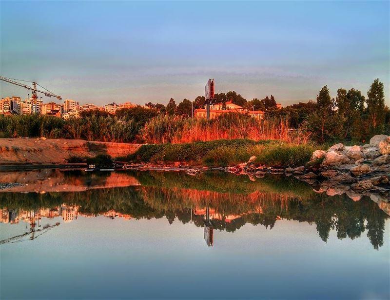 marina dbayeh lebanon seaside lake watersurface reflection ... (Marina Dbayeh)