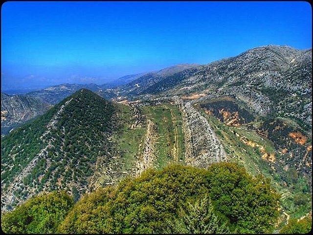 niha chouf mountlebanon lebanon nature trees green mountains ... (Niha - Al Shouf)