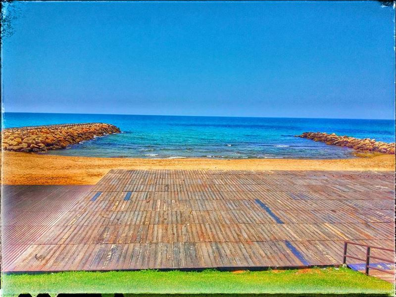 beach sea colorfull shore sand summer jiyeh pangea ... (Pangea Beach Resort)