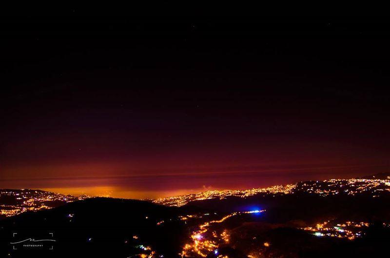 Who needs to sleep anyway🌃 (Baskinta, Lebanon)