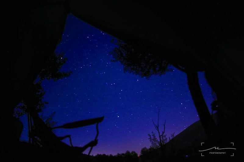 tb to the best view from my tent🌌 (Ouyoun Orghosh)