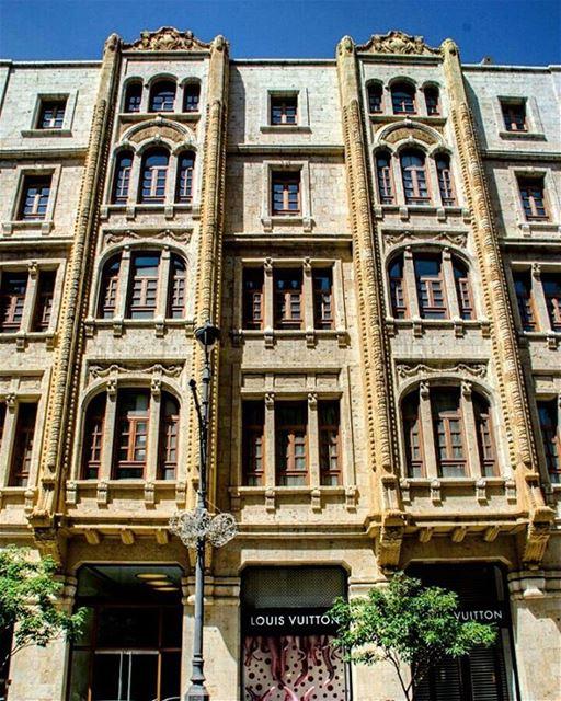 Fachada da Louis Vuitton de Beirute, selecionada pelo site da grife como... (Downtown Beirut Louis Vuitton)