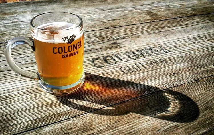 She stands with such beauty and elegance. beer  brewery  craftbeer ... (Colonel Beer Brewery)