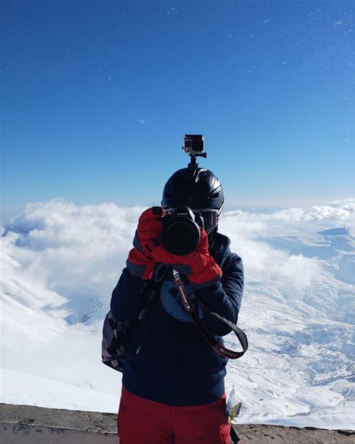 Say cheese 🧀 mountains snow naturelovers naturephotography trip ... (Mzaar Kfardebian)