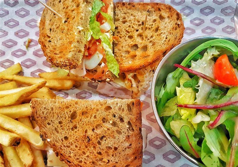 crispy clubsandwich roadsterdiner beirut lebanon dailyfoodfeed ...