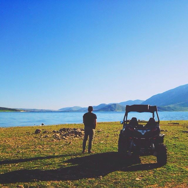 Off the Beaten Track Off-Road qaraounlake lebanon livelovelebanon ... (Karoun Lake)