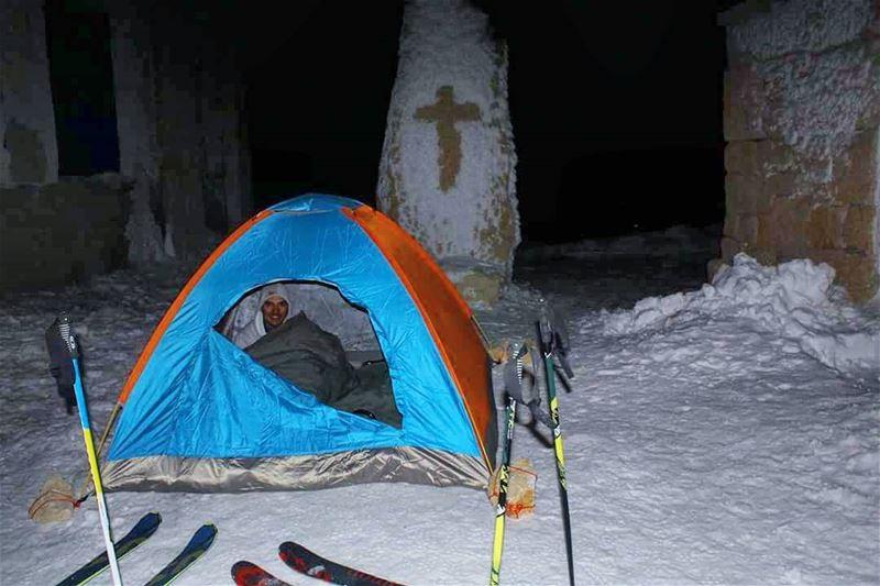 What's next ? faraya farayalovers mzaar mzaarchallenge camping ... (Mzaar 2400m)