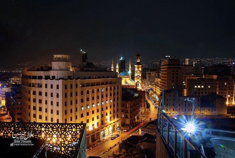 General view of the beautiful city of Beirut, Lebanon. Lebanon ...