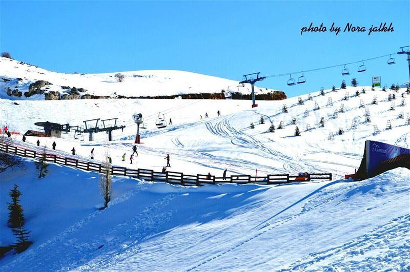 Zaarourclub zaarour skiing lebanoninapicture livelovelebanon ...