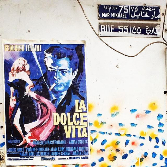 La Dolce Vita. marmikhael beirut lebanon livelovebeirut ... (Mar mikheal)