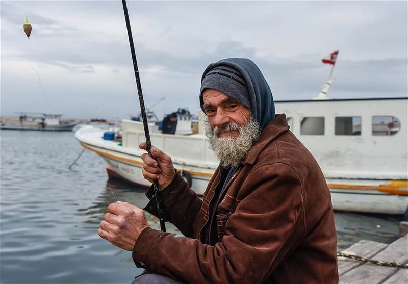 Behind the eyes a sea of blessings... shot in tripoli lebanon fisherman...