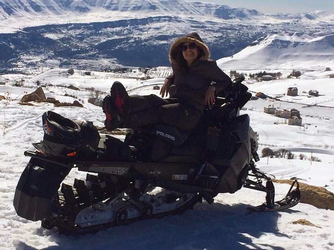 That View ! polaris fxr polarisrider polarislebanon zaarourclub ...