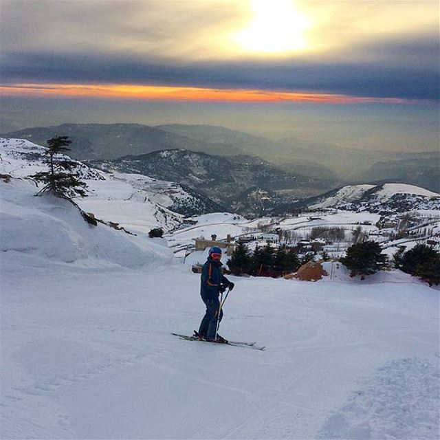 Sunset ride faraya farayalovers mzaar faqra sunset sports961 ... (Mzaar 2400m)