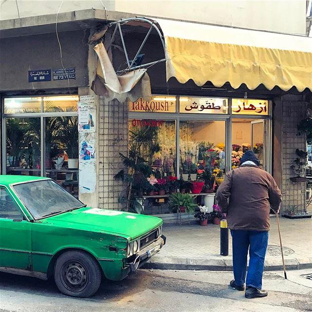 Down memory lane🚶🏽💜 beirutbyalocal livelovebeirut ... (Hamra, Beyrouth, Lebanon)