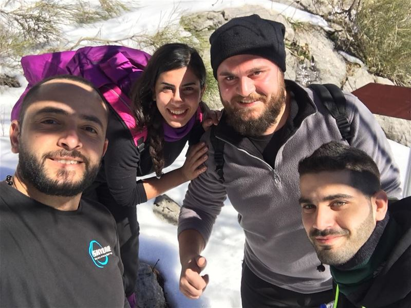 abouttoday bestteam skyliners adventure adventurer adventurelife... (Jabal Moussa)