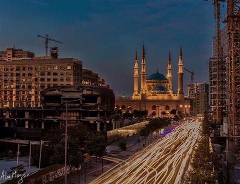 beirut alamin mosque lebanontravelers lebanon_hdr whatsapplebanon ... (Al-Ameen Mosque Beirut)