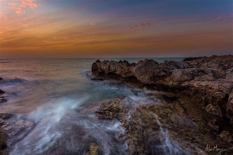 beirut sunset sea lebanon lebaneseview_ livelovelebanon ...