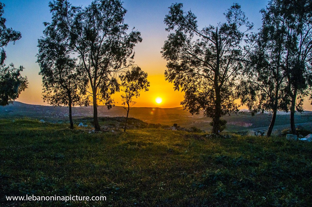 A sunset from Yaroun