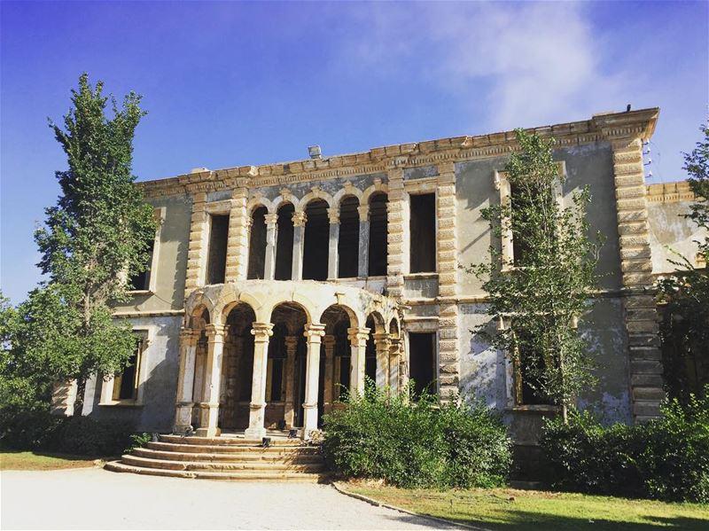 Lebanon Beirut Lebanese architecture archilovers ... (Sawfar - Mount Lebanon)