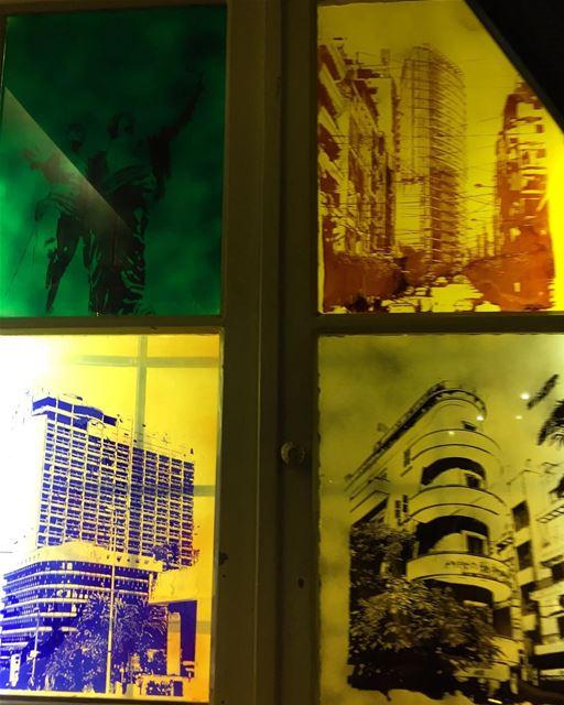 lebanon beirut glass window lebanese architecture archilovers ... (Cafe Em Nazih)