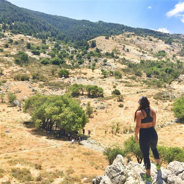 When the pack is slower than... (Barouk - Shouf)