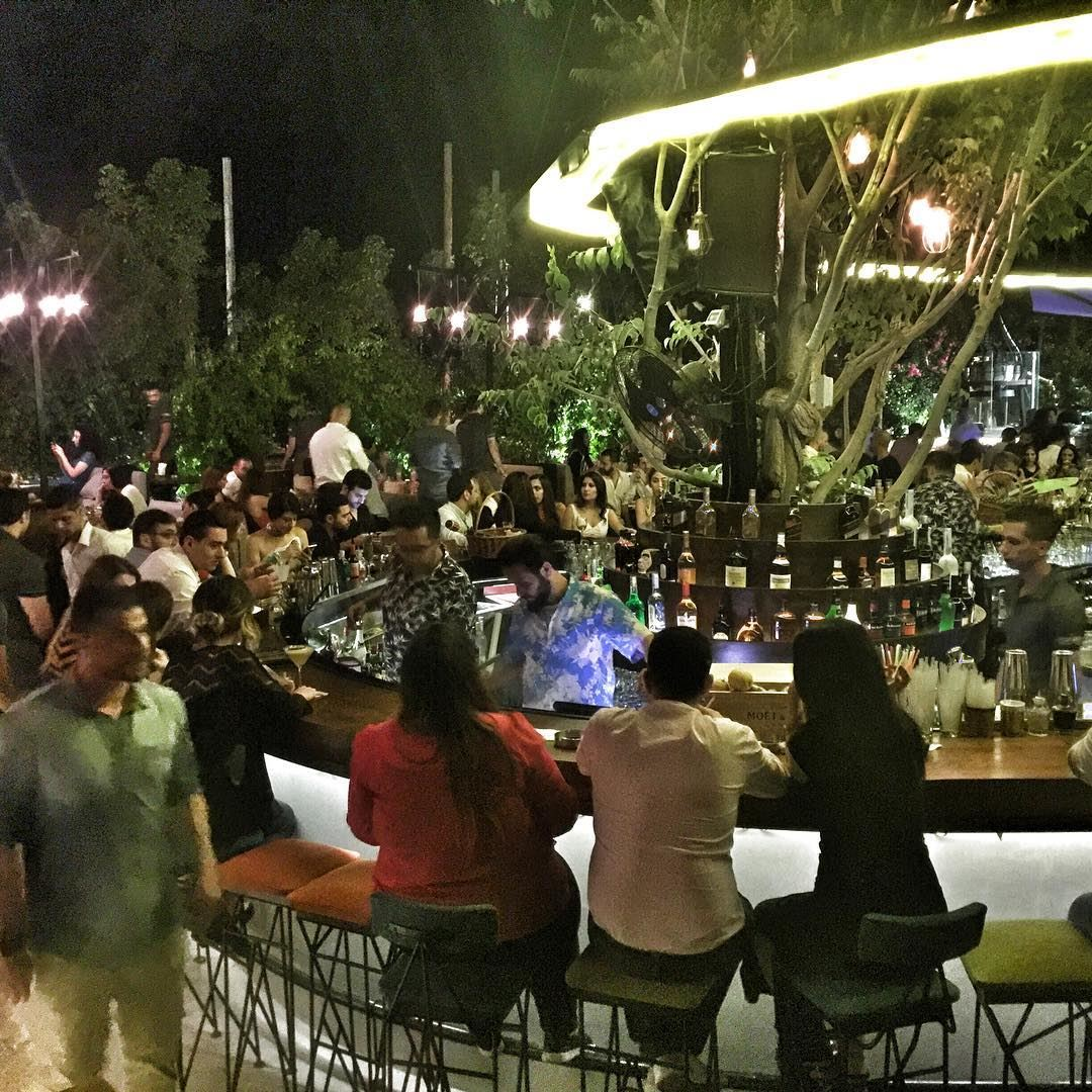 The livelovefamily enjoying the pre-opening of ... (Seven Sisters Beirut)