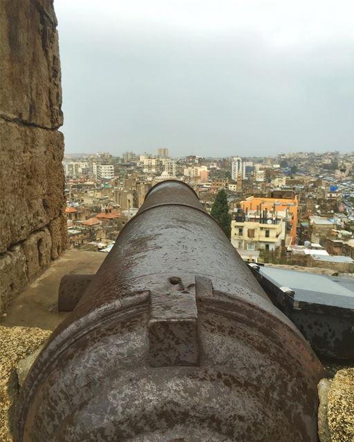 Fire away!! (قلعة طرابلس الأثرية)