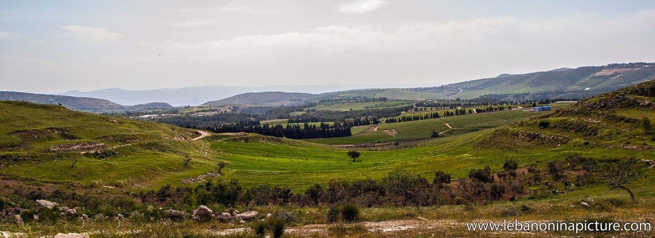 Lebanon and Occupied Palestine Borders