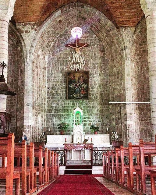 Take me to church ⛪️ ..... church architecture oldarchitecture ... (Tannourine)