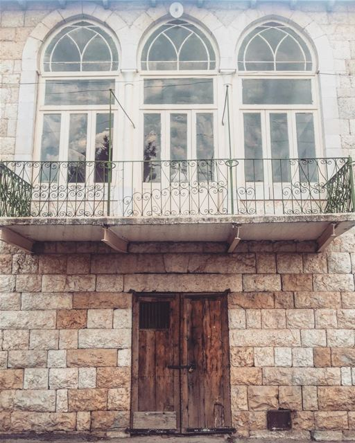 Architecture is music in space !! .... architecture ... (Douma, Liban-Nord, Lebanon)