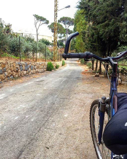 Nothing compares to the simple pleasure of a bike ride. John F. Kennedy 🚴� (Ed Douâr, Mont-Liban, Lebanon)
