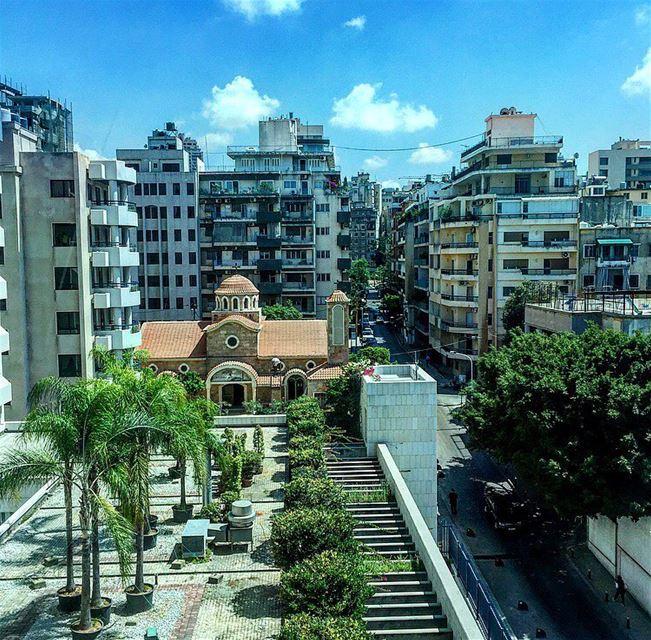 goodmorning picoftheday photooftheday beirut achrafieh fromthetop ... (Achrafieh, Beirut)