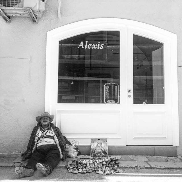 Say Cheese 🧀😁 blackandwhitephotography urban life onthestreet ... (Gemmayzeh, Beirut)
