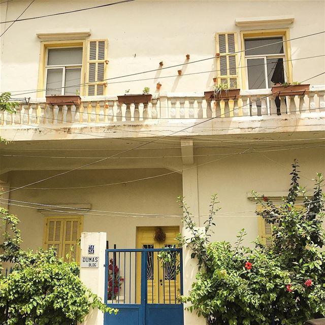 Bonjour 💛 livelovebeirut livelovearchitecture windows goals ... (Rmeil Ashrafieh)
