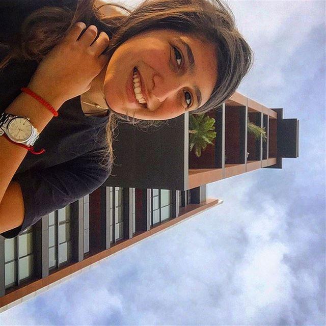 Selfie 🙃 picoftheday photooftheday smile happy happiness ... (Achrafieh - Mar Mikhael)