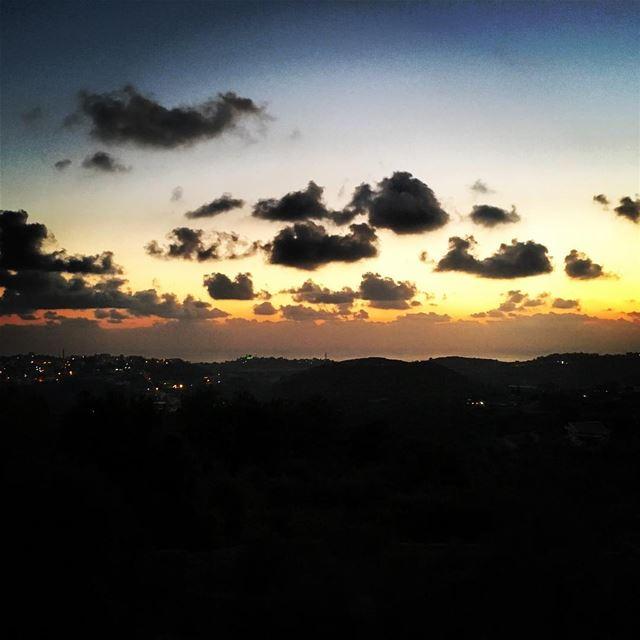 dalhoun sunset lebanon ... (Dalhoun, Chhim)