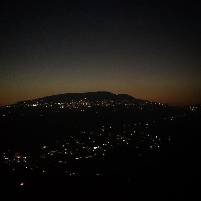 emfarouk view lebanon night sunset ...