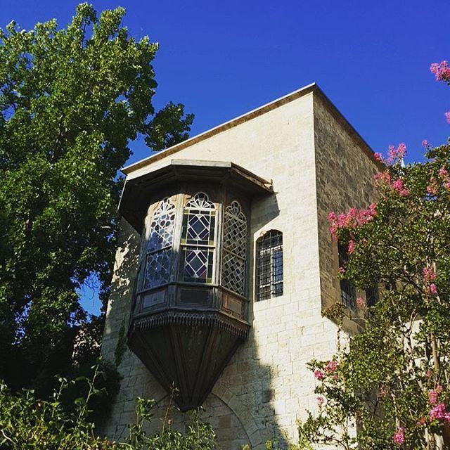Lebanon beiteldine balcony arabian architecture ... (Beit Ed Din, Mont-Liban, Lebanon)